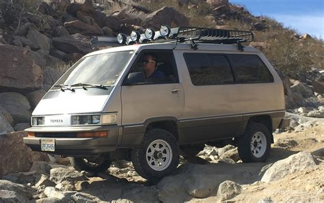 toyota van the van that can a 4x4 toyota van built for the rocks