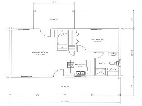 simple modern cabin floor plans placement house plans