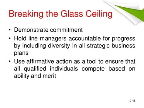 Glass Ceiling Psychology by Career Development