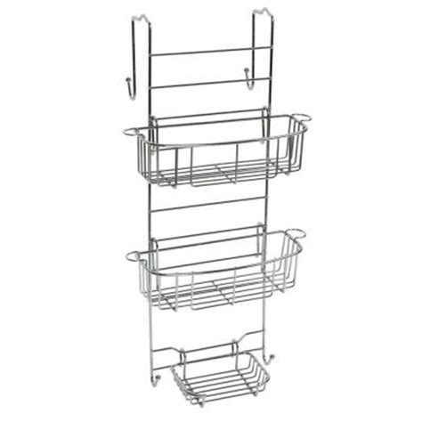 The Shower Caddy by Zenith The Shower Door Caddy In Chrome