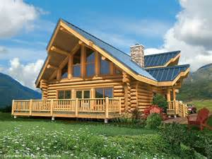 Log Home Plans And Prices Juniper Log Home Design By The Log Connection