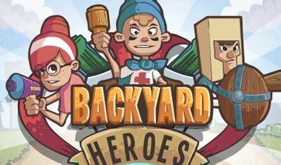 backyard superheroes backyard heroes il gioco