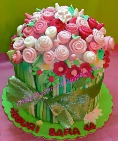torta mazzo di fiori idolcipasticci torta bouquet