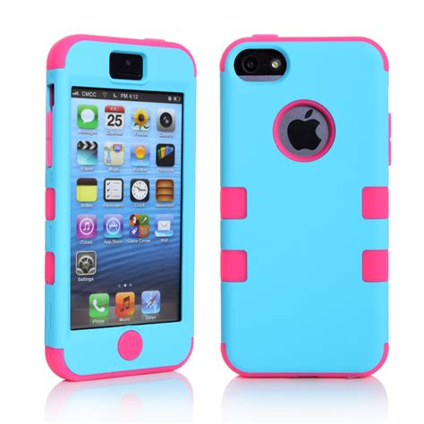 Casing Cover Iphone 5 Ume 3 In 1 Chrome I Ring Stand aliexpress buy colorful silicone varnish 3 in 1 cover for iphone 5 5s 5c se