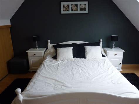 chambre noir et blanche chambre blanche et grise photo 1 1 nouvelles