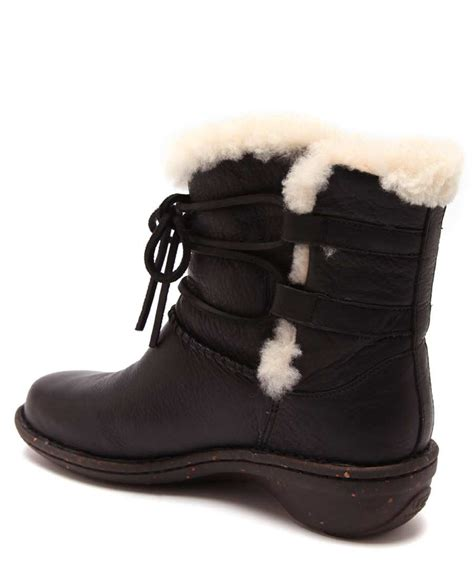 ugg s caspia leather boots designer footwear sale