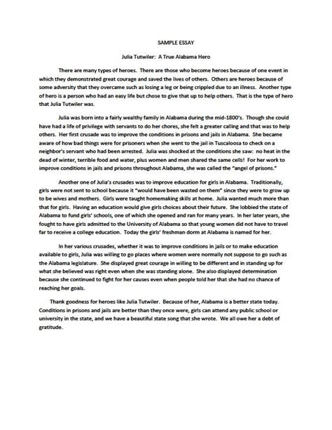 Heroism Essay by How To Write Your Essay