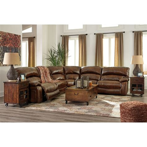 damacio power reclining sofa signature design by damacio harness leather match