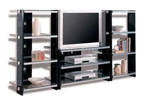 metal tv stands black contemporary tv stand w metal frame glass shelves