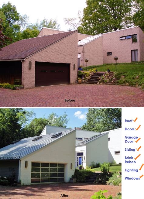 green remodeling contemporary home before after