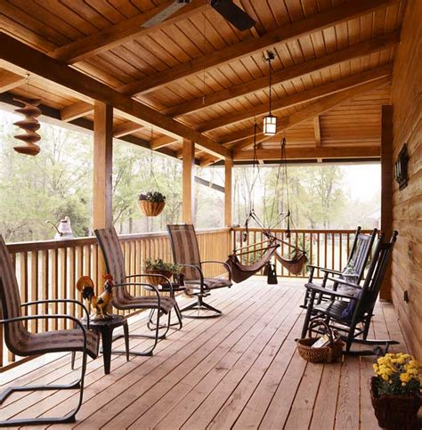 Walkout Ranch House Plans by Photos Of A South Carolina Log Home Coming Home Again