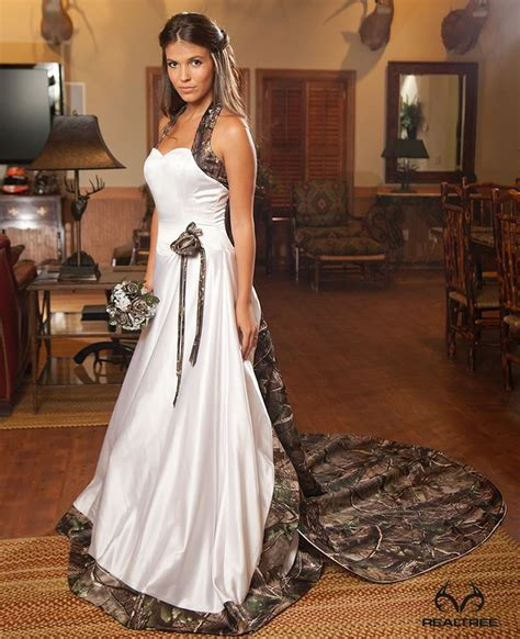 realtree camo wedding dress elegant and country