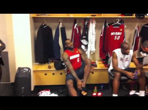 lebron locker room lebron locker room 3 nba finals 2011