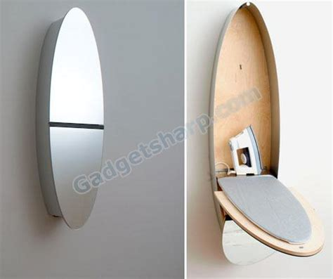 Mirror Ironing Board Closet by 10 Modern And Mirror Designs Gadget Sharp