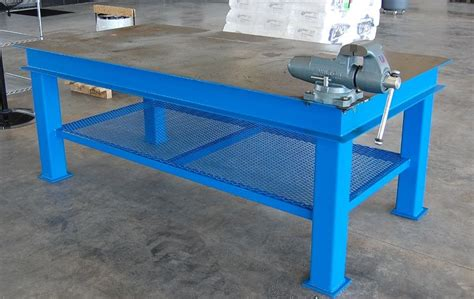 metalwork bench homemade steel welding bench