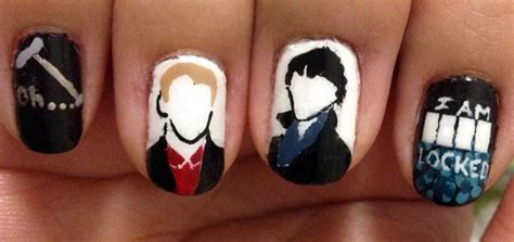 painting nails dress up dress up your nails for sherlock