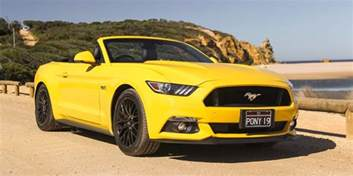 Ford Mustang Convertible 2016 Ford Mustang Gt Convertible Weekender Photos