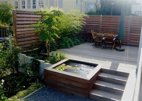 terrasse quadratmeter holzterrasse mit wasserbecken 75 quadratmeter