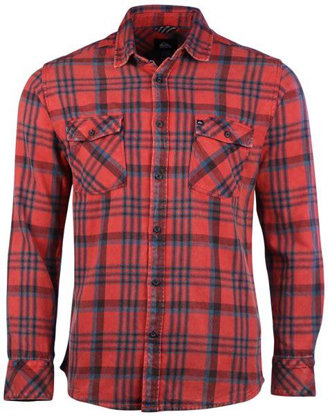 Quiksilver Tang Titan Flannel quiksilver s tang plaid flannel button shirt ebay