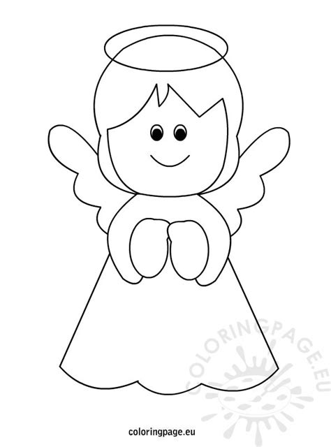 Tree Topper Coloring Page Free Printable Angel Coloring Page by Tree Topper Coloring Page