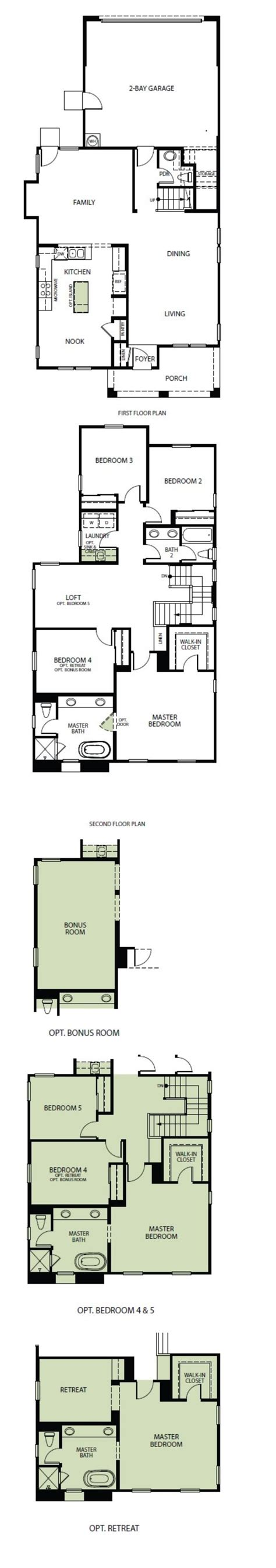Woodside Homes Floor Plans by Plan 4 Model 3 Bedroom 2 5 Bath New Home In Sacramento Ca Woodside Homes At Natomas Meadows