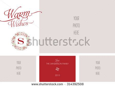 multi photo card template secular stock photos royalty free images vectors