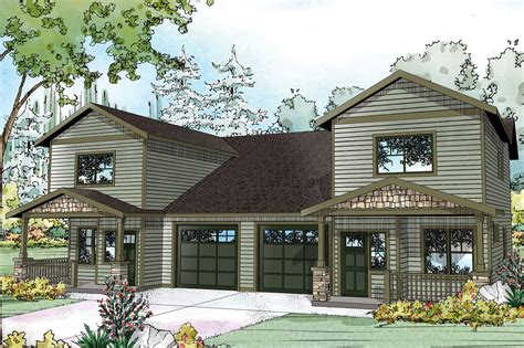 Two Story Craftsman Style House Plans country house plans kennewick 60 037 associated designs