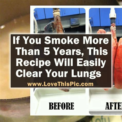 Detox Your Lungs And Breathe Easier by If You Smoke This Easy To Make Recipe Will Clear Your