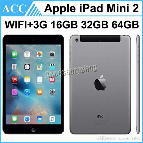 Mini 2 64gb Second 2017 refurbished original apple mini 2 2nd generation wifi 3g cellular 7 9 inch ios a7