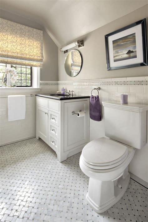 Classic Bathroom Tile Ideas by Stunning Basket Weave Tile For Classic Bathroom Design