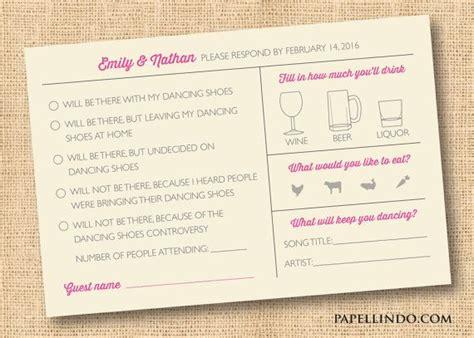 rsvp card insight etiquette every last detail