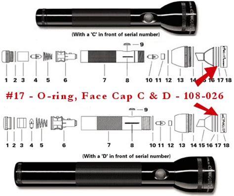 maglite parts diagram maglite parts flashlightsales discount maglite