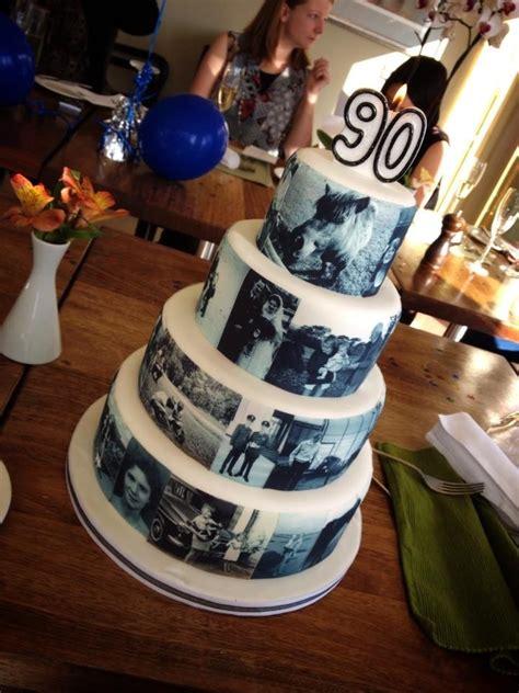 grandads  photograph birthday cake xx party ideas pinterest birthdays dads  cakes
