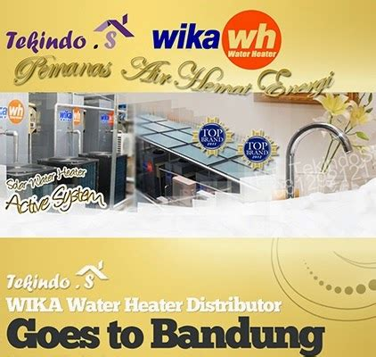 Wika Water Heater Bandung jual pemanas air gas listrik bandung