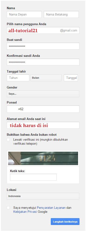 video tutorial membuat gmail tutorial membuat email gmail atau akun gmail all tutorial 21
