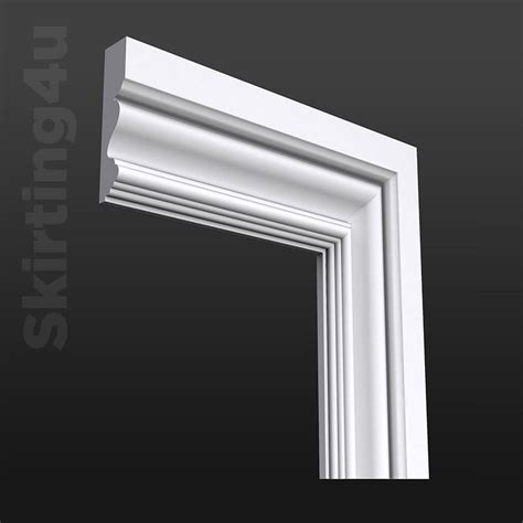 Exterior Cornice Boards Victorian Architrave Decorative Door Surround Skirting 4 U