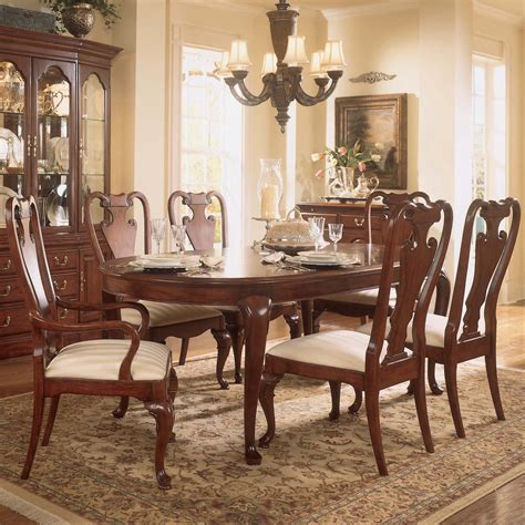 7 pc dining room set oval dining room sets mariaalcocer