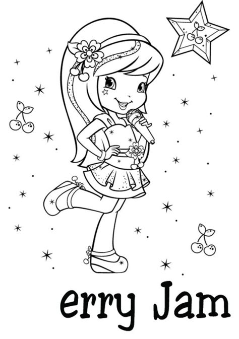 Cherry Jam Coloring Pages Az Coloring Pages Jam Coloring Pages