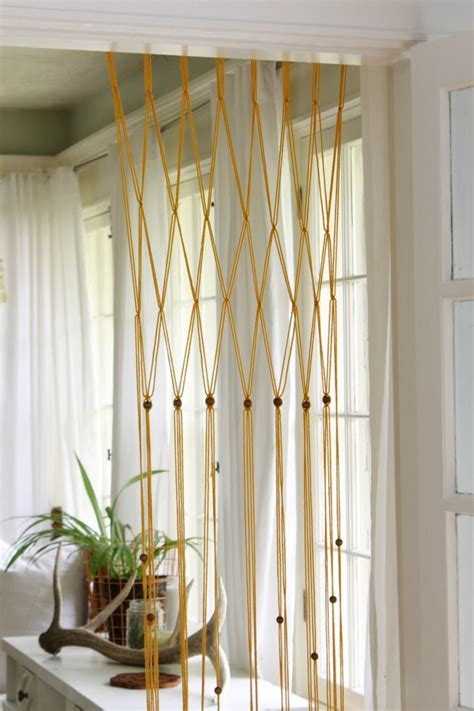 diy bead curtain 25 best macrame curtain ideas on pinterest how to