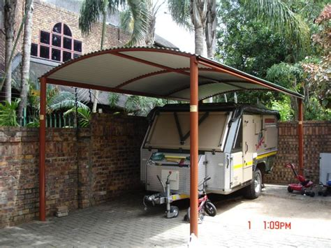 Canvas Car Port by Metal Roof Carports Product Range Nelspruit