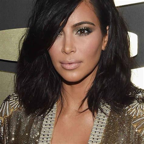 kimkardashian short hair kim kardashian s hair stylist tells us about that new