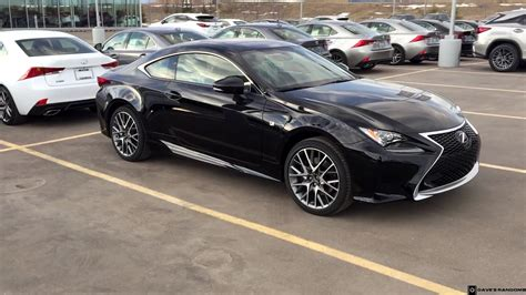 lexus rc f sport 2017 2017 lexus rc 300 f sport awd walk around