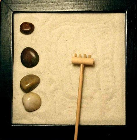 Mini Zen Garten