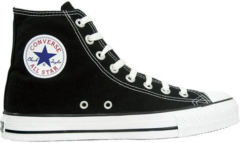 Sepatu Converse Allstar Clasic Black White converseholic converse cotton high cut