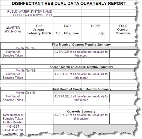 quarterly report template best photos of quarterly report exle quarterly report