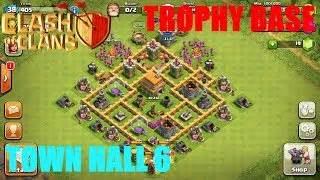 Best town hall level 6 defense strategy for clash of clans