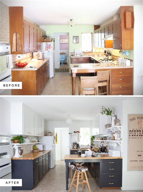 new colors for kitchens before after new colors in the kitchen decordove