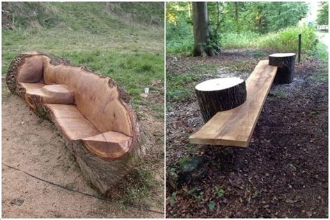 tree stump bench ideas 10 absolutely wonderful tree stump landscaping and decor ideas
