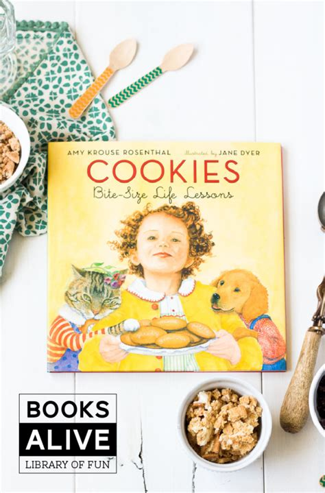 s alive books books alive cookies paging supermom
