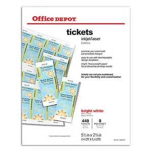 office max printable tickets template for mac cover